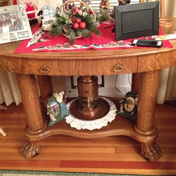 Old Claw Foot Table - Furniture
