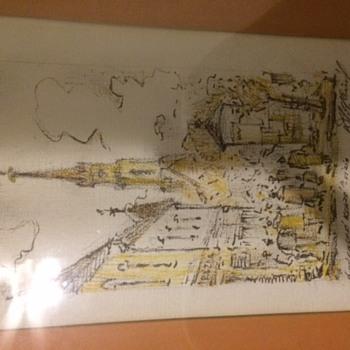 Italian Hotel??? - Fine Art