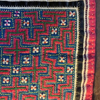 Another Textile from One of the Southeast Asian Hilltribes, I think. - Rugs and Textiles
