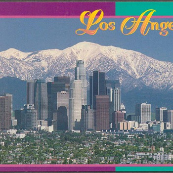 1995 - Los Angeles Postcards - Postcards