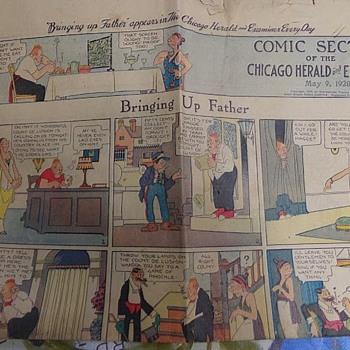 1920 Comic - Paper