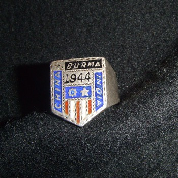 WW2 CBI Theater souvenir ring - Military and Wartime