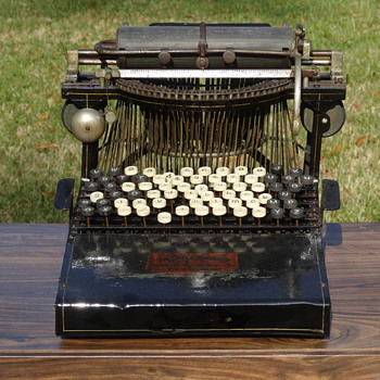 Scary Typewriter- 1880s Caligraph No. 2 Typewriter - Office