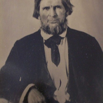 My Great, Great, Great, Grandfather John A. Windle, 1842, Rifle and Republic of Texas Land Grant - Photographs