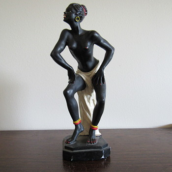 Mystery Mark on Vintage Figurine - Figurines