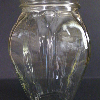 Depression glass vase? - Glassware