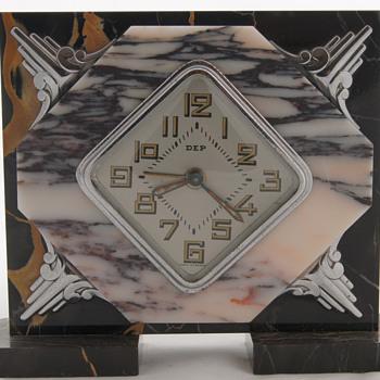Wonderful ART DECO French clocks by Dep