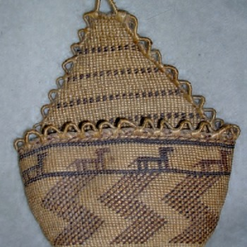 Native American Basket ID - Chehalis? or Apache? - Native American