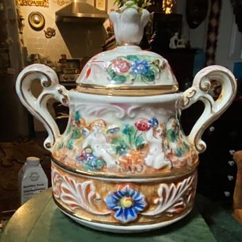 Capodimonte Sugar Bowl? - Pottery