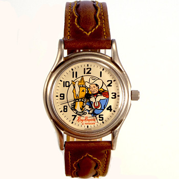 Not your Everyday Find...1993 Roy Rogers Remake of the 1960 Watch - Toys