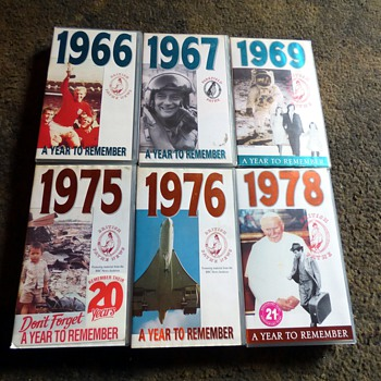 1966-78, years to remember-vhs video cassettes.