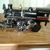 vintage iron wind up train