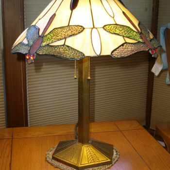 Bradley and Hubbard Dragonfly Lamp