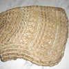 Victorian English bonnet braided straw