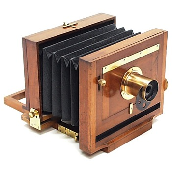 Scovill Waterbury View Camera. c.1888