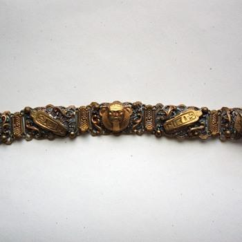 Vintage egyptian revival bracelet