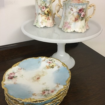 Haviland France plates, cream and sugar set - China and Dinnerware