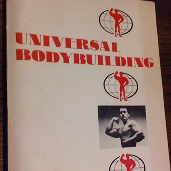 UNIVERSAL BODYBUILDING mail order course, 1970's - Books