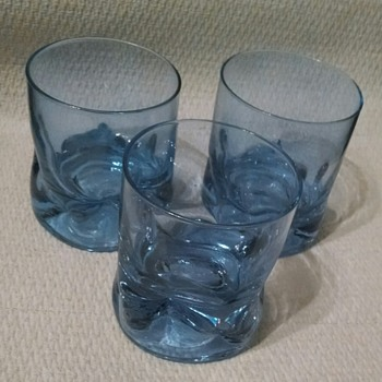 3 Alexandrite Neodymium cocktail glasses - Kitchen