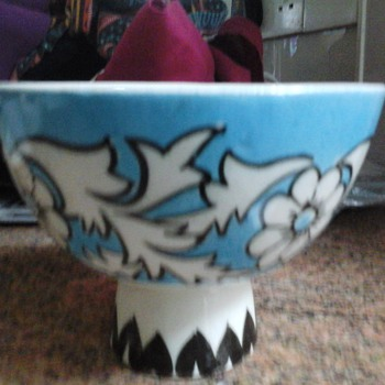 footed bowl - Pottery
