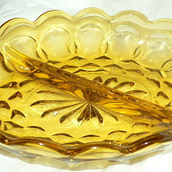 Mystery depression glass pattern - Glassware