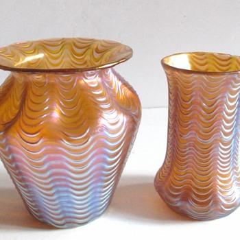 Loetz Pink glass - Art Glass
