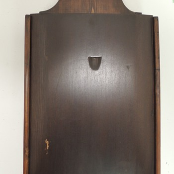 Early American Candle Box - Pine