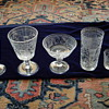 czech bohemian engraved glassware