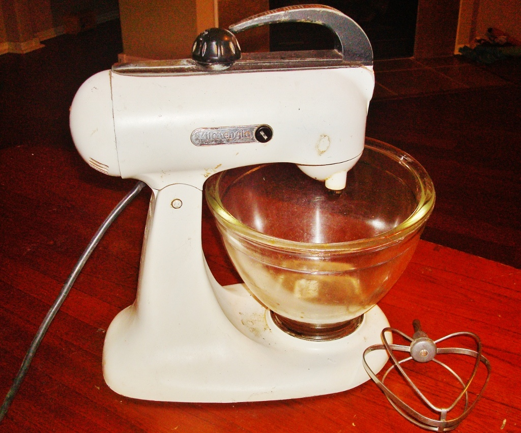 Vintage KitchenAid Stand Mixer | Collectors Weekly on old kenmore mixer, old kettle, old champagne, old rice steamer, old keurig, old meat grinder, old sunbeam mixmaster, old breville mixer, old dyson, old yamaha mixer, old hamilton beach mixer, old food mixer, kitchenaide mixer, old peavey mixer, old cheese, old pressure cooker, vintage hamilton beach hand mixer, old oster mixer, old sunbeam mixer, old pioneer mixer,