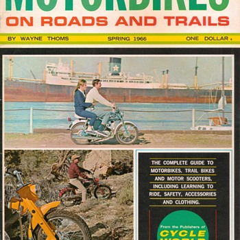 "1966 - ""Motorbikes"" Magazine - (Introductory Issue)"