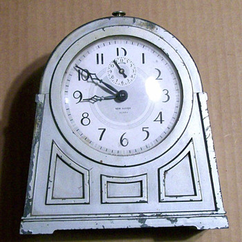 New Haven 1930s Metal Alarm Clock - Clocks