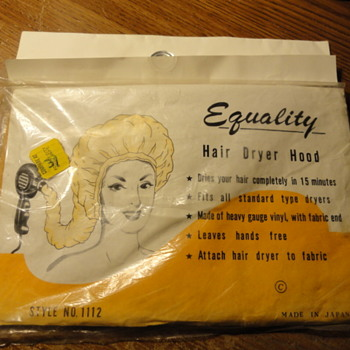 EQUALITY Hair Dryer Hood ( sealed )