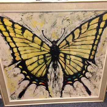 Butterfly painting by Keith Lee - Fine Art