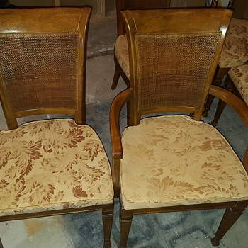 Regency Style Dining Chairs - Help Identify