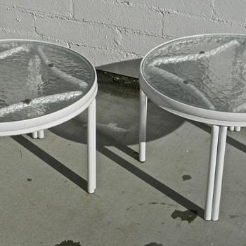 Vintage Patio End Tables - Furniture