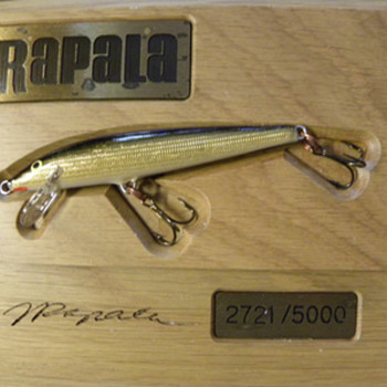 Rapala Fishing Lure Limited Edition