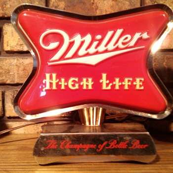 1954 Miller High life Cash Register Topper