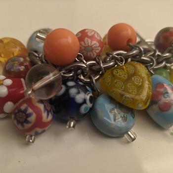 Murano key chain - Costume Jewelry