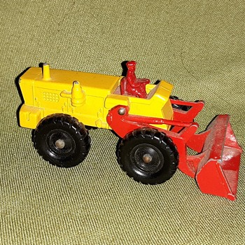 Mechanical Mule Matchbox Monday MB43B Aveling-Barford Tractor Shovel 1962-1967 - Model Cars