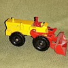 Mechanical Mule Matchbox Monday MB43B Aveling-Barford Tractor Shovel 1962-1967