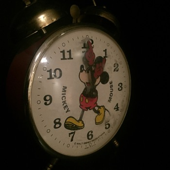 Micky Mouse alarm clock  - Clocks