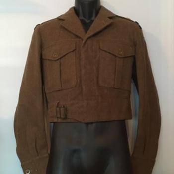 1950s Seaforth Highlander Battle Dress - Military and Wartime