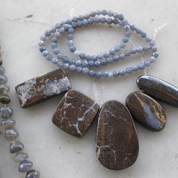 """Pretty darn old """"potch"""" opals - Fine Jewelry"""