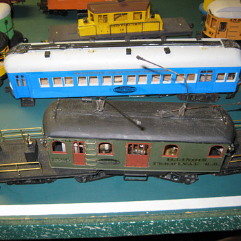 Hand Made in 1940/50 by Uncle Herb Model Trains! - Model Trains
