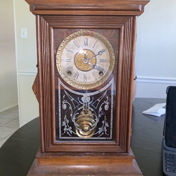 E Ingram & Co Clock  - Clocks