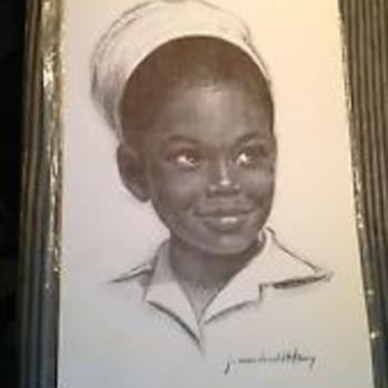 Little Jamaican child