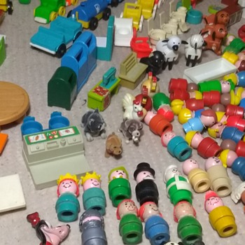 My vintage Fisher Price Little People Collection  - Toys