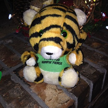 Vintage Plush Tiger - Animals