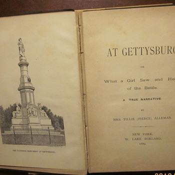 """""""At Gettysburg""""...1889 Civil War book. - Books"""