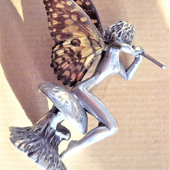 Silver plated fairies - Figurines